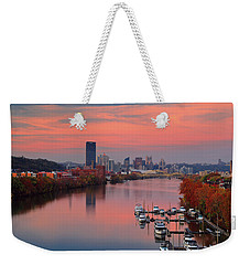 Pittsburgh 31st Street Bridge  Weekender Tote Bag by Emmanuel Panagiotakis