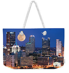 Pittsburgh 6 Weekender Tote Bag by Emmanuel Panagiotakis