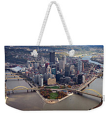Pittsburgh 8 In Color  Weekender Tote Bag