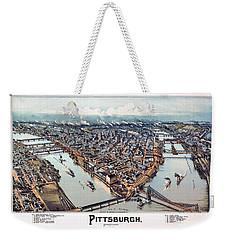 Pittsburgh Pennsylvania 1902 Weekender Tote Bag