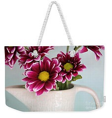 Pixelated ...naturally Weekender Tote Bag by Lynn England