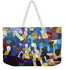 Pixels Weekender Tote Bag