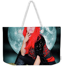 Pixie Under A Blue Moon Weekender Tote Bag