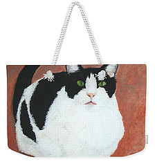 Pj And The Mouse Weekender Tote Bag by Marna Edwards Flavell