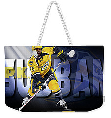 Pk Subban Weekender Tote Bag by Don Olea