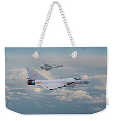 Weekender Tote Bag featuring the photograph Plaaf J10 - Vigorous Dragon by Pat Speirs