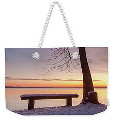 Place For Two Weekender Tote Bag