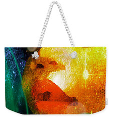 Weekender Tote Bag featuring the photograph Placid by Iowan Stone-Flowers