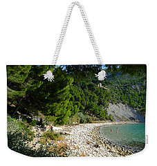 Arene Beach Of Cassis Weekender Tote Bag