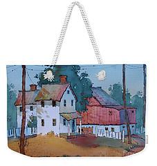 Plain And Simple Weekender Tote Bag