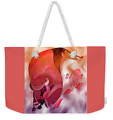 Plain Thunder Weekender Tote Bag