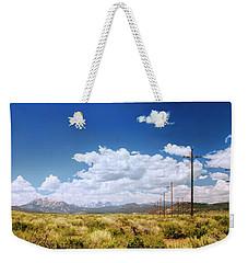 Plains Of The Sierras Weekender Tote Bag