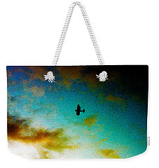 Plane Over Key West Weekender Tote Bag