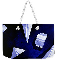 Planes On Blue Weekender Tote Bag