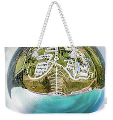 Weekender Tote Bag featuring the photograph Planet Concordia by Randy Scherkenbach