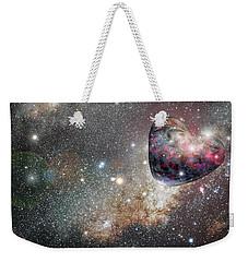 Planet Love Weekender Tote Bag
