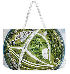 Weekender Tote Bag featuring the photograph Planet Mukwonago by Randy Scherkenbach