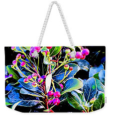 Plant 14 In Abstract Weekender Tote Bag