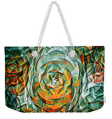 Weekender Tote Bag featuring the photograph Plant Abstract by Wayne Sherriff