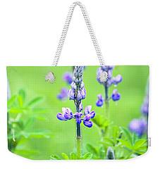 Lupine With Web Weekender Tote Bag
