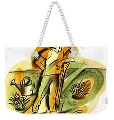 Planting Weekender Tote Bag by Leon Zernitsky