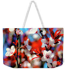 Weekender Tote Bag featuring the photograph Plants And Flowers by D Davila