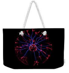 Plasma Ball II Weekender Tote Bag by Richard Stephen