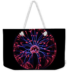 Plasma Ball Weekender Tote Bag