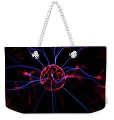 Plasma Electrode Weekender Tote Bag by Richard Stephen