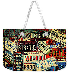 Plates Galore Weekender Tote Bag