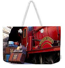 Platform Nine And Three Quarters Weekender Tote Bag