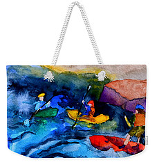 Platte River Paddling Weekender Tote Bag