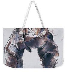 Play Fight Weekender Tote Bag