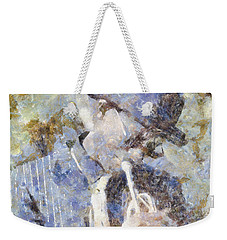 Play The Blues Weekender Tote Bag by Shirley Stalter
