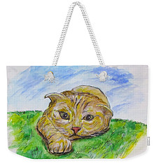 Play With Me Weekender Tote Bag by Clyde J Kell