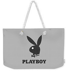 Playboy T-shirt Weekender Tote Bag