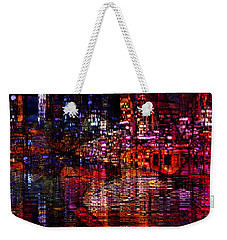Playful Evening Weekender Tote Bag