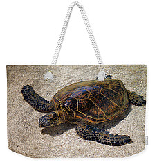 Playful Honu Weekender Tote Bag by Pamela Walton