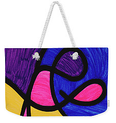 Playful Weekender Tote Bag