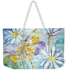 Weekender Tote Bag featuring the painting Playfulness by Jasna Dragun