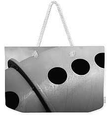 Weekender Tote Bag featuring the photograph Playground Bridge by Richard Rizzo