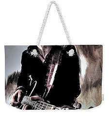 Weekender Tote Bag featuring the photograph Playin' Grunge by Pennie  McCracken