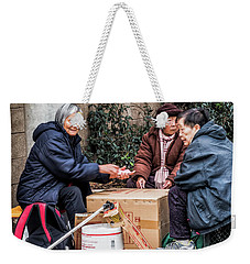 Playing Cards In Chinatown Weekender Tote Bag