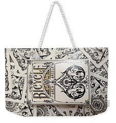 Playing Cards Weekender Tote Bag by Sheila Mcdonald