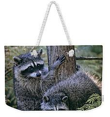 Playing In The Woods Weekender Tote Bag