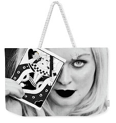 Playing My Card... Weekender Tote Bag