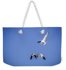 Playing Terns Weekender Tote Bag