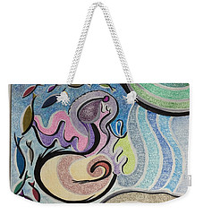 Playing With The Seal Weekender Tote Bag