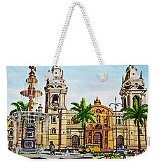 Plaza Armas, Cusco, Peru Weekender Tote Bag