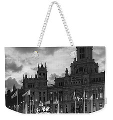 Plaza De Cibeles Fountain Madrid Spain Weekender Tote Bag